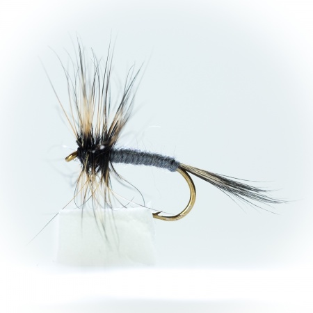 Grey Duster Dry Fly by the dozen