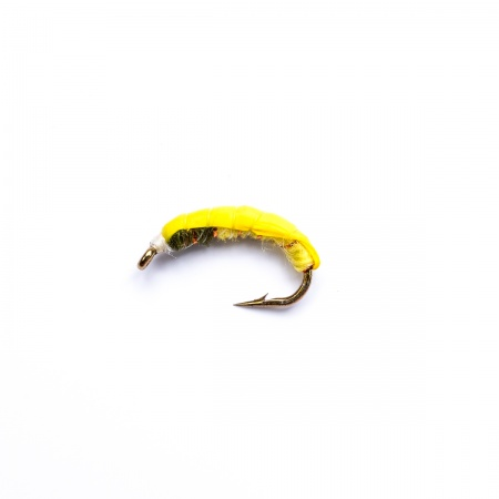 Yellow Green Weighted Czech Nymph