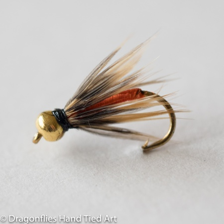 Partridge & Orange Gold Head  Wet Fly