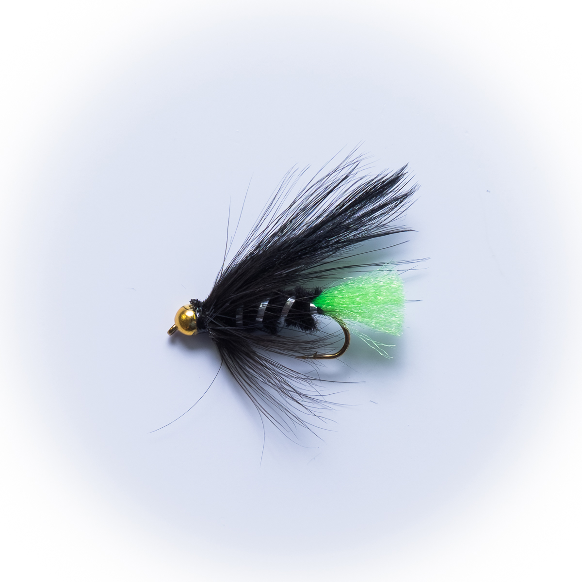 Gold head viva lure dragonflies for Fly fishing lure