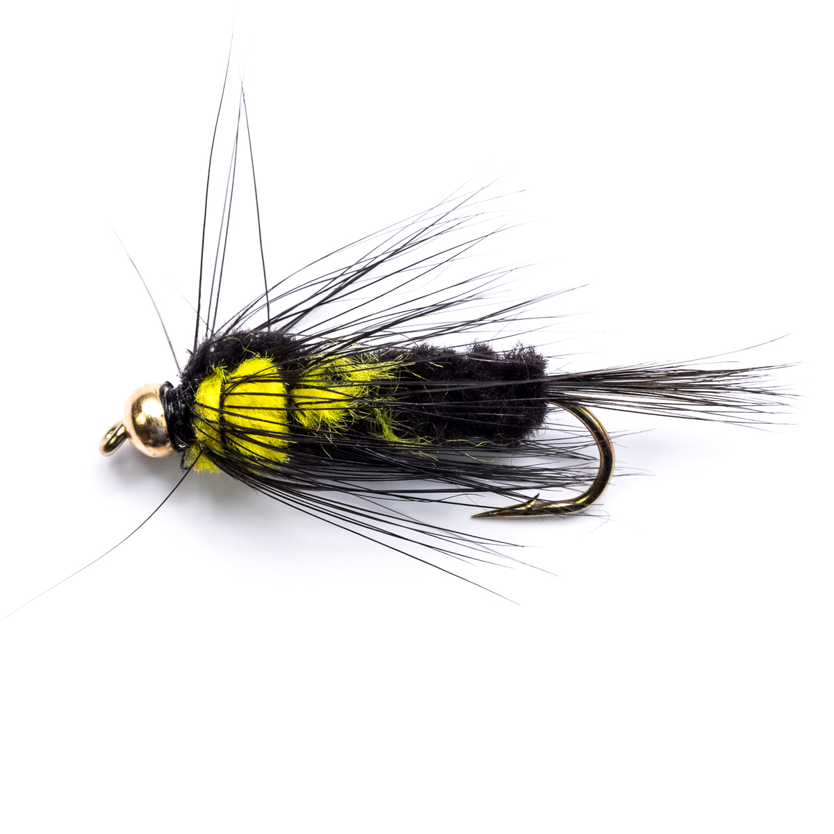 18 gold head montana nymphs trout fly fishing flies long shank, Fly Fishing Bait