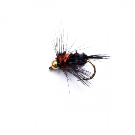 18 Gold Head Montana Nymphs Trout Fly fishing Flies SHORT SHANK
