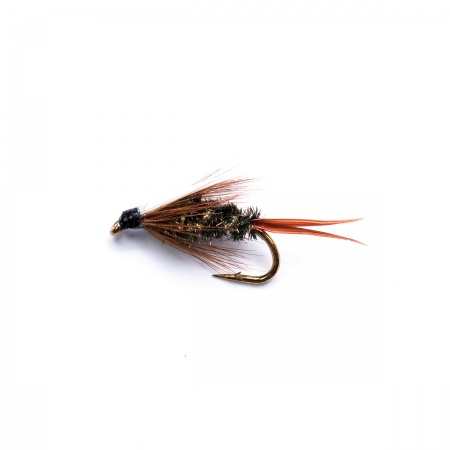 18 Nymphs Trout Fly fishing Flies GRHE, Pheasant Tail & Prince
