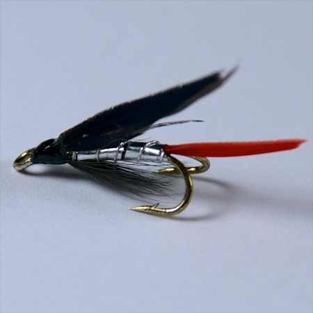 Silver Butcher Wee double fly