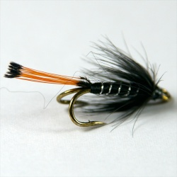 Black Pennel Wee double fly