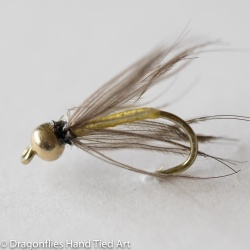 Snipe & Yellow Gold Head  Wet Fly