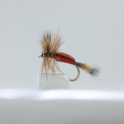 Red Humpy Dry Fly