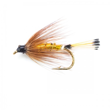Grouse & Gold Spider wet fly per dozen