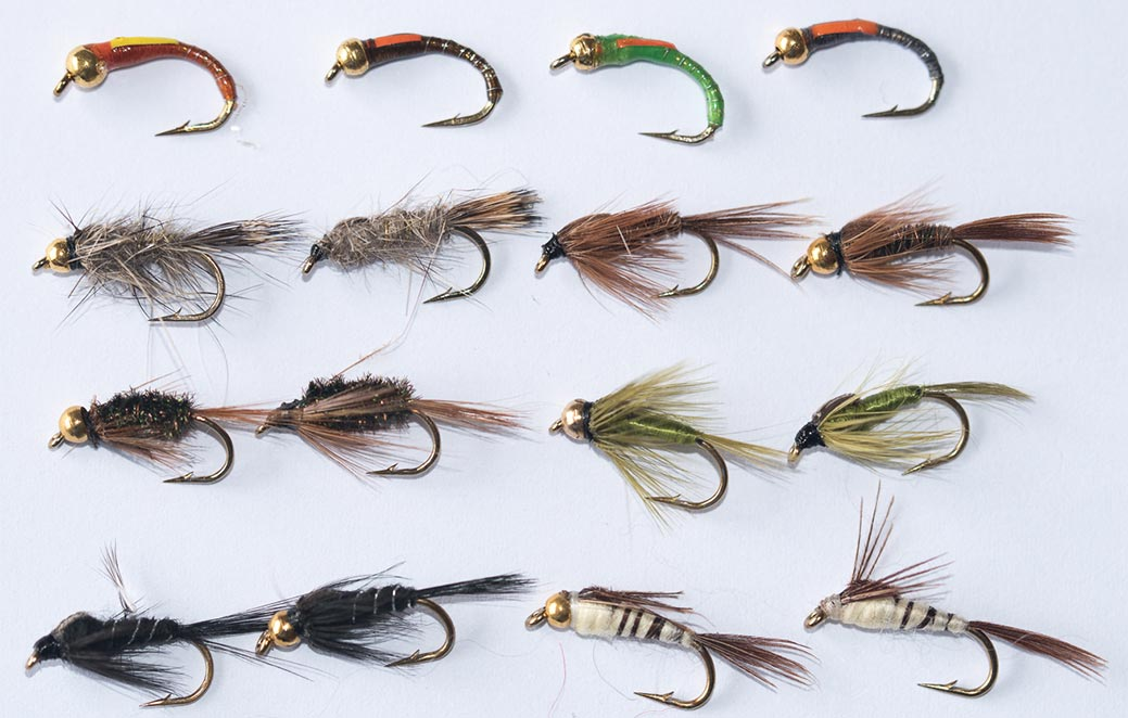 18 Wet Fly Fishing Grouse /& Orange,Grouse /& Claret,Grouse /& Green by Dragonflies