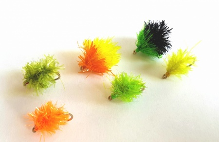 set of 6 blobs size10 in various colours