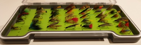 36 Boxed Wet Flies