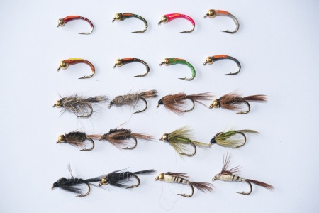 50 Mixed Trout & Grayling Nymphs and Buzzers
