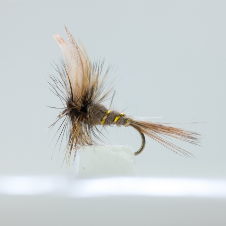 March Brown Dry Fly by the dozen
