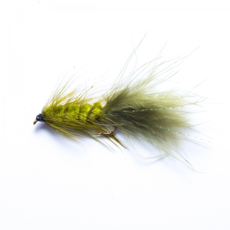 Olive Woolly Bugger Lure