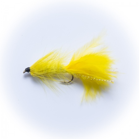 Yellow Woolly Bugger Lure