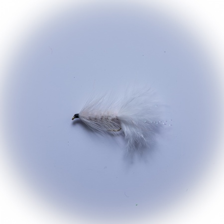 White Woolly Bugger Lure