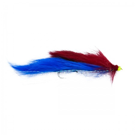 Blue and red snake barbless