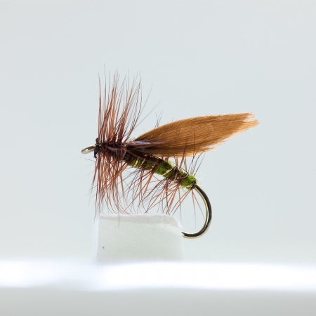 Brown Winged olive Sedge Dry Fly