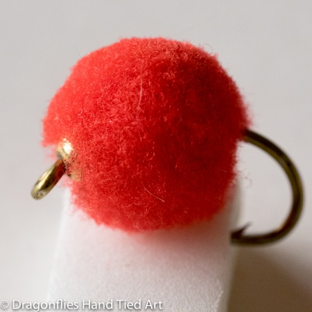 Weighted Egg Red Wet Fly