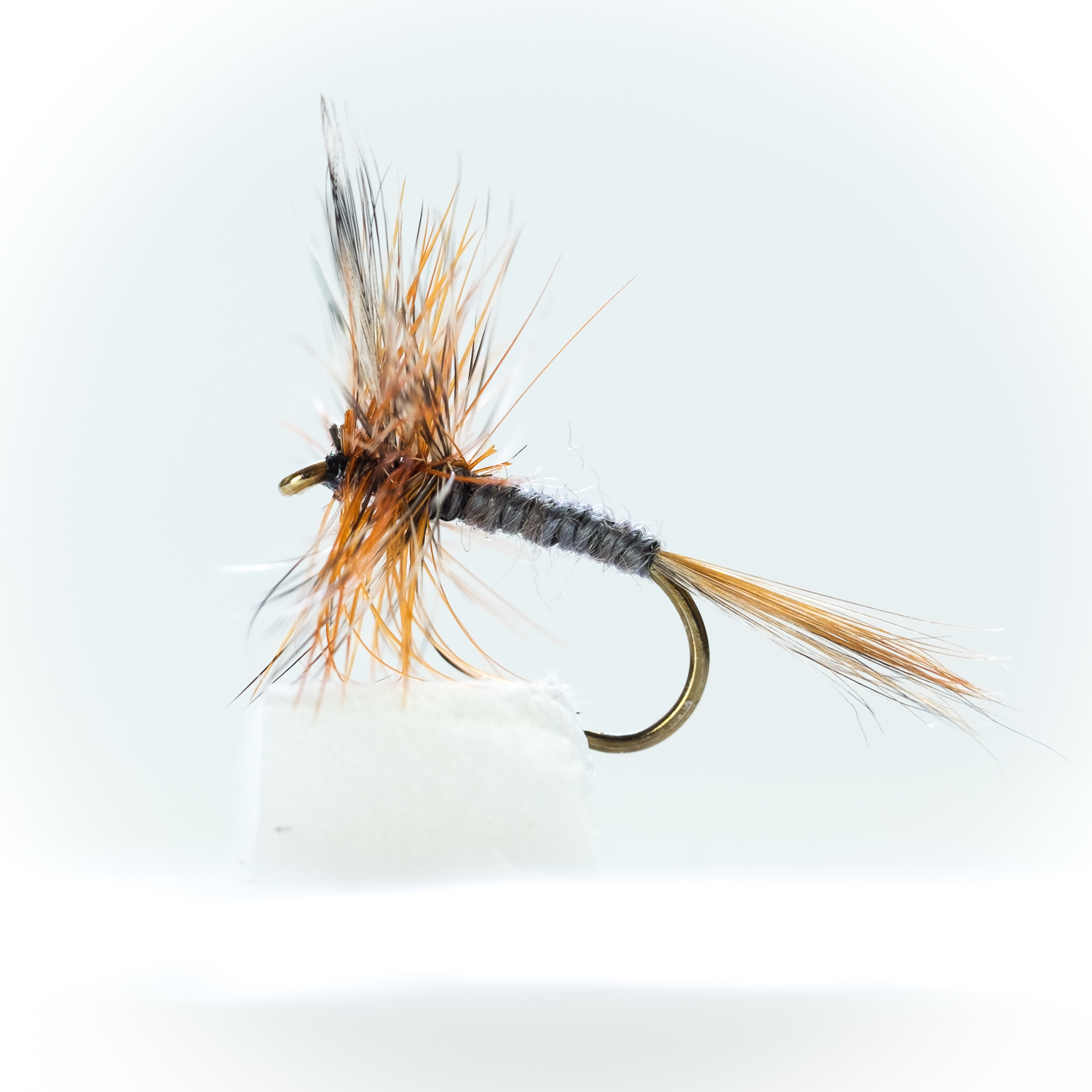 Mixed 14//16//18 8 CDC F Fly Fishing Flies Olive Fly Fishing