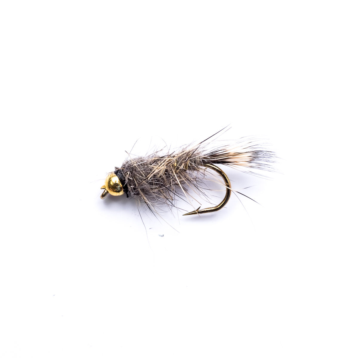 12 Gold Head /& Standard ROUGH OLIVE Nymphs Trout Fishing Flies Dragonflies