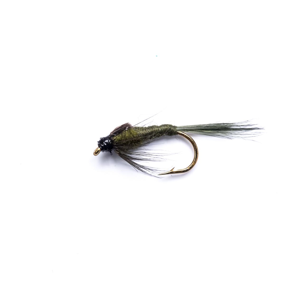 Pheasant Tail /& Black pheasant 18 Gold Head Nymphs Trout Fly fishing Flies GRHE