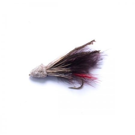 Black Marabou Muddler Minnow Lure