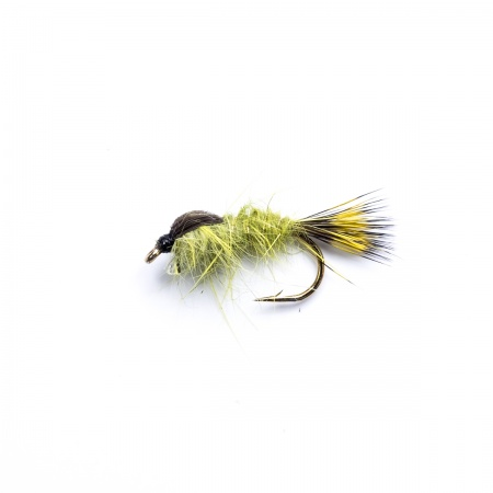 Olive Gold Ribbed Hares Ear Nymph