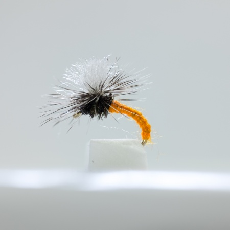 Orange Klinkhammer Dry Fly by the dozen