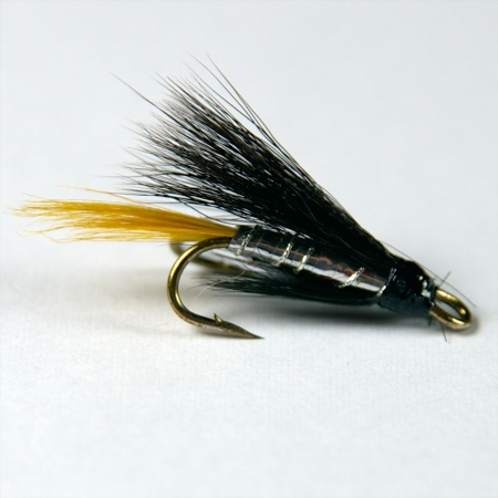 Silver Stoats Tail Wee double fly