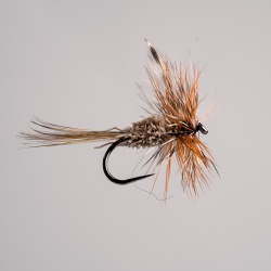 Barbless Adams Irresistible Dry Fly