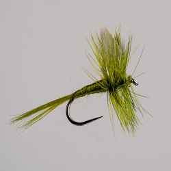 Barbless Olive Dun Dry Fly