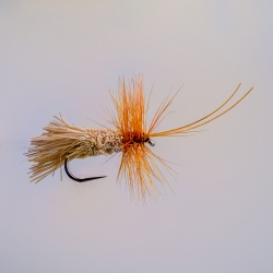 Barbless Goddard Caddis Dry Fly