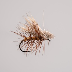 Barbless Elk Hair Caddis Dry Fly