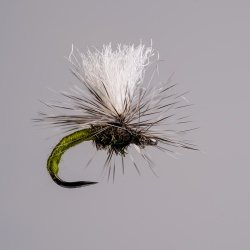 Barbless Olive Klinkhammer Dry Fly