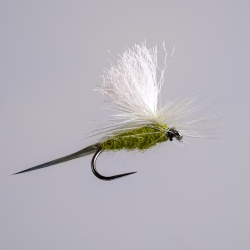 Barbless Blue Winged Olive Parachute Dry Fly