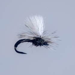 Barbless Black Klinkhammer Dry Fly