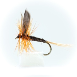 Ginger Quill Dry Fly by the dozen