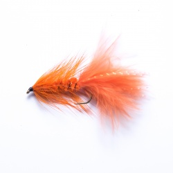 Orange Woolly Bugger Lure