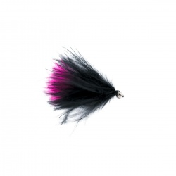Cats whisker black and pink barbless