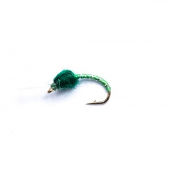 Green buzzer wet fly