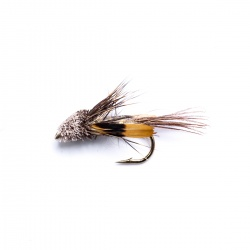 JC Hares Ear Dabbler Mini Muddler Wet Fly