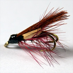 Dark Mackeral Wee double fly