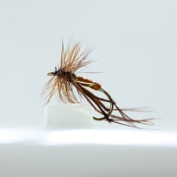 Bristol Hopper Brown Dry Fly