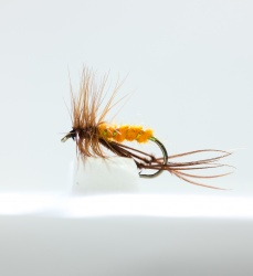 Bristol Hopper Orange Dry Fly