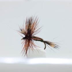 Olive Humpy Dry Fly