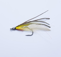 Lefty's Deceiver Yellow White