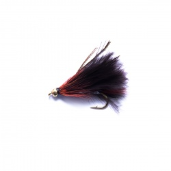 Black Gold Head Marabou