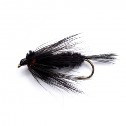 18 Standard Montana Nymphs Trout Fly fishing Flies LONG SHANK