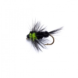 Montana  Lime Green Thorax Short Shank Nymph